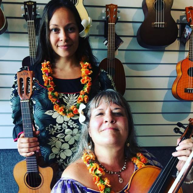 Off The Grid at Hilo Ukulele & Guitar Shop